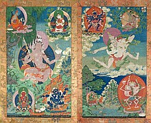 Collection of Fine Thangkas, Chinese & Oriental Works Of Art