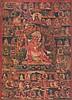 A Thangka depictingEruka Tibet, 17th Century
