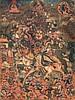 Thangka raffiguranteShangpaKarpa(?) Tibet, 18th-19th Century