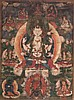 A ThangkadepictingAvalokitesvara China/Tibet, 18th Century