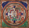 A MandalaofAvalokitesvara Mongolia, 19th Century