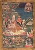 Thangka depicting the master Gelug-pa China/Tibet,18thCentury