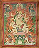 Thangka portraying Pehar Gyalpo Tibet, 18th-19th Century