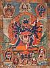 Thangka depictingCakrasaṁvara Tibet, 18th-19th Century