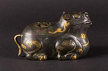 "A ""Zun"" bronze incense burner China, Ming Dynasty, 16th Century"