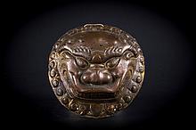 A copper umbo Tibet/China, 18th Century