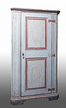 A corner cupboard Tuscany, 19th century