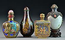 Chinese Enamel, Ivory, Cloisonn¨¦ Snuff Bottles