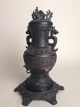 Old Chinese Bronze vase