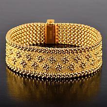Cartier yellow gold bracelet