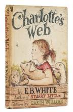 White  (E.B.) Charlotte's Web, New York, 1952.