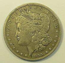 1895 O Morgan Dollar.