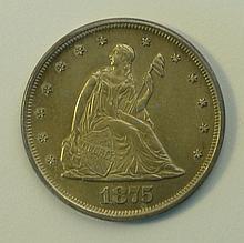 1875 Twenty Cent Piece.