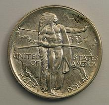 1926 S Oregon Trail Commemorative Half Dollar.