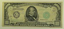 1934 $1000 Federal Reserve Note.  FR# 2211-G.