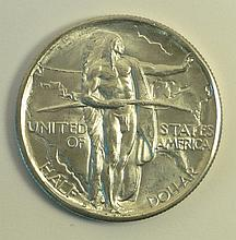 1934 D Oregon Trail Commemorative Half Dollar.