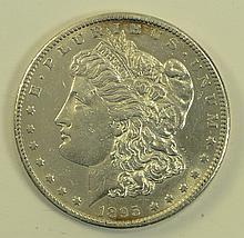 1895 S Morgan Dollar.