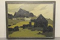 SIR JOHN KYFFIN WILLIAMS R.A, KBE, (WELSH,