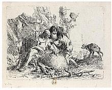 Giovanni Battista TIEPOLO (1696-1770) Les deux magiciens don