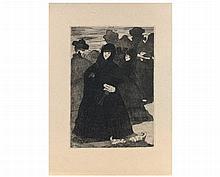 Edouard MANET (1832-1883)  Au Prado (deuxième planche) (Guér
