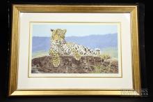 Limited edition print 41/1025 - Stephen Gayford 'Solitude', signed by artist in margin, 44x25cm
