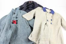 Three 1950s child's coats