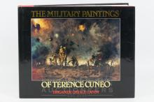 Terence Cuneo - The Military Paintings of Terence Cuneo, Brigadier Gerard Landy, book, signed