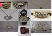 Jewelry, glassware and collectible auction ABSOLUTE AUCTION
