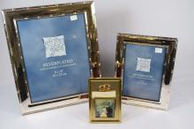 Silver plated, picture frames 8x10, 5x7. Musical picture frame