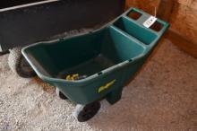 2-Wheel Plastic Garden Cart