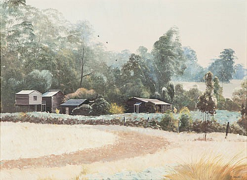 BRUCE MALLOCH (B. 1936), HIGH TIMBER COUNTRY