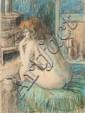 WILLIAM BOISSEVAIN (B. 1927), SEATED NUDE, Signed