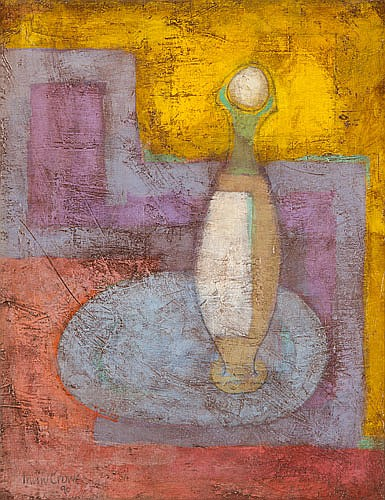 IRWIN CROWE (1908-2003), THE LONELY VASE, Signed &