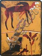 ROBERT JUNIPER (B. 1929), RIDER, Signed, titled,