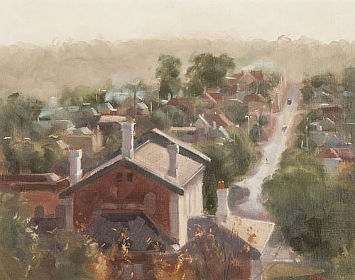 HILARY JACKMAN , DAYLESFORD, Signed & dated 77