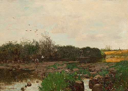 ROBERT GUSTAVE MEYERHEIM (1847-1920), BOYS
