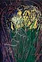 GUY GREY-SMITH (1916-1981) FLOWERS Acrylic on card, Guy Grey-Smith, Click for value