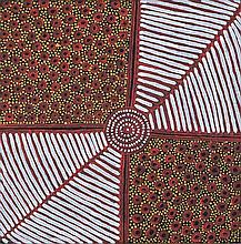 SUSAN GIBSON NAPALTJARRI (B.1972)  WOMEN'S CEREMONY  Certificate of Authenticity