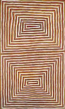 MICK NAMARARI TJAPALTJARRI (1926-1998)  MENS DREAMING  Provenance: Phillips De Pury Auctions