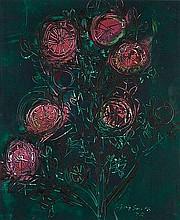 GUY GREY-SMITH (1916-1981) BOTTLE BRUSH Signed &