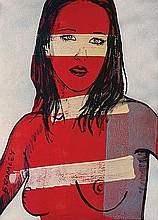 DAVID BROMLEY (B. 1960) BELINDA Signed lower left