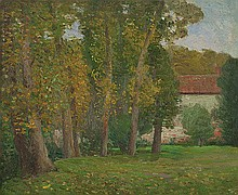 EDWARD CAIRNS OFFICER (1871-1921) VIEW FROM THE