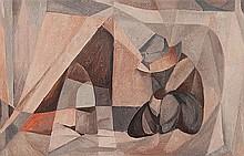 DOROTHY BRAUND (1926-2013) SUNDOWNER Signed verso