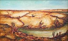 GARRY SHEAD (B. 1942) CHARLEVILLE MEMORY Oil on