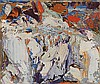 MAC BETTS (1932-2010) LIMESTONE QUARRY Signed &