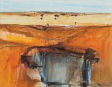 PETER DAVIDSON (B.1944) OPEN CUT LAVERTON Signed &