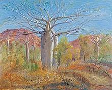 BRIAN SEIDEL (B.1928) THE BOABS - EAST KIMBERLEYS