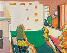 CHRIS CAPPER (B. 1951) TEXAS TAVERN MCLEAY STREET