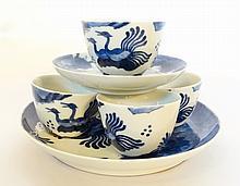 Vietnamese Bleu de Hue Porcelain