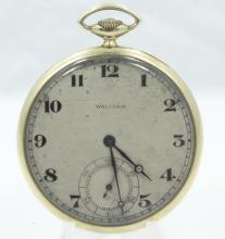Antique 1915 Waltham *Riverside* SOLID 14K Yellow Gold 19J Pocket Watch (52.4 Grams)